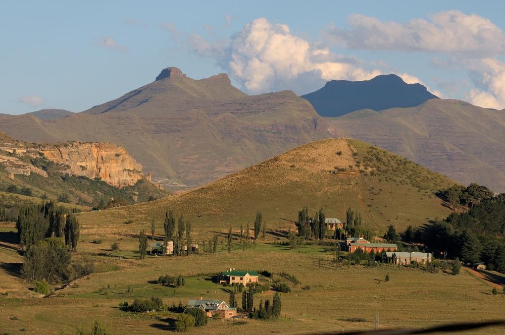 Clarens in Südafrika