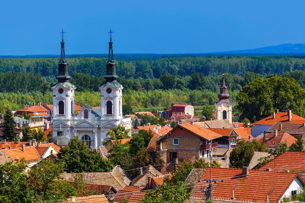 Stadt in der Fruška Gora: Sremski Karlovci