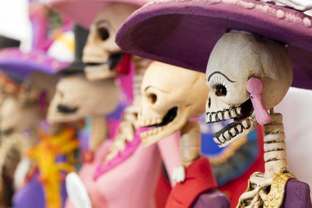 Reiseziele an Halloween: Mexiko-Stadt