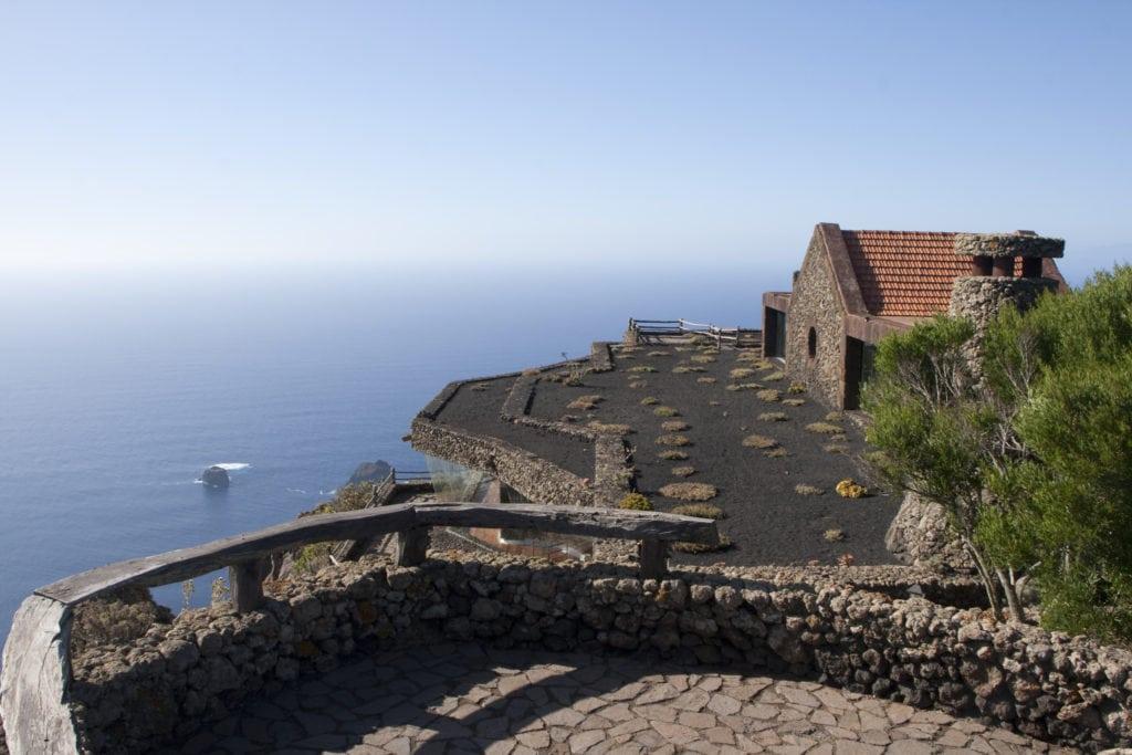 Der Aussichtspunkt Mirador de La Peña auf El Hierro.
