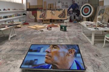 Die Werkstatt des Künstlers César Manrique in seinem Haus in Haría auf Lanzarote Bildnachweis