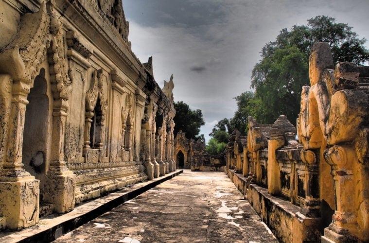 Heilige Stätte in Myanmar