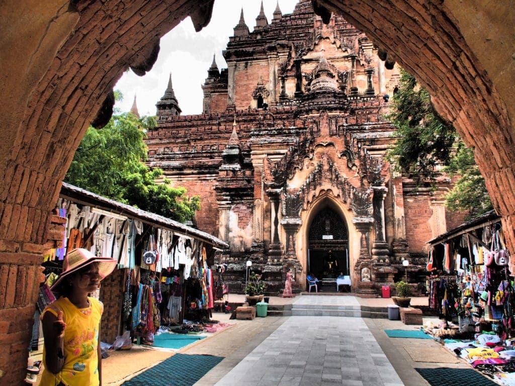 Wunderschönes Bagan, Myanamr