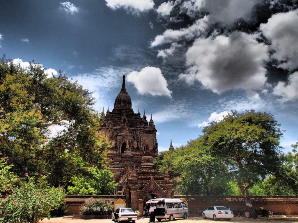 Stoppen, wo es am Schönsten ist: Pagodenlandschaft in Bagan, Myanmar