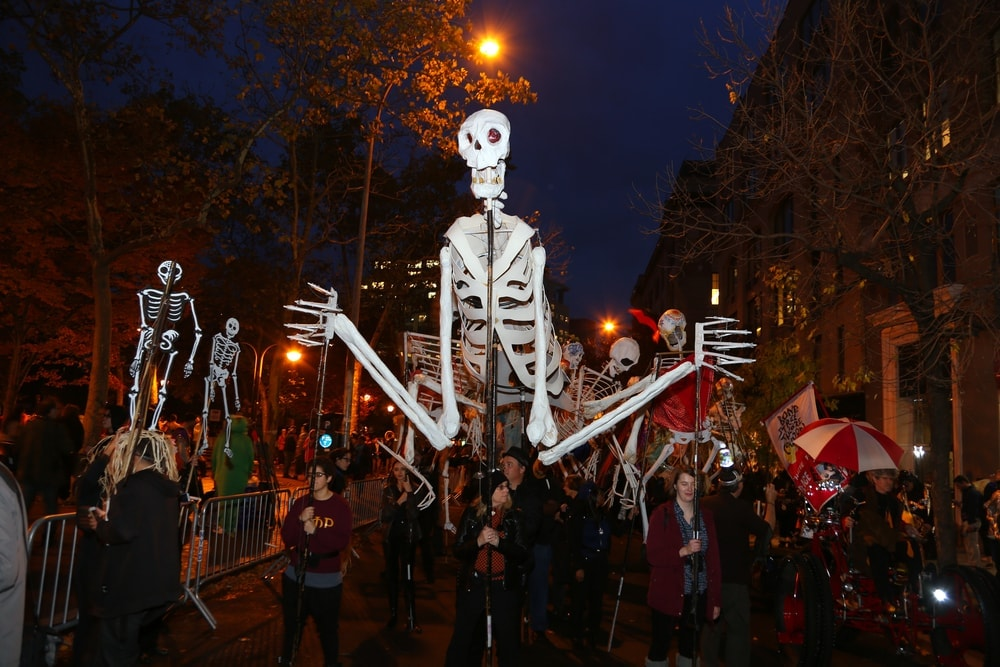 Reiseziele an Halloween: Village Halloween Parade in New York City
