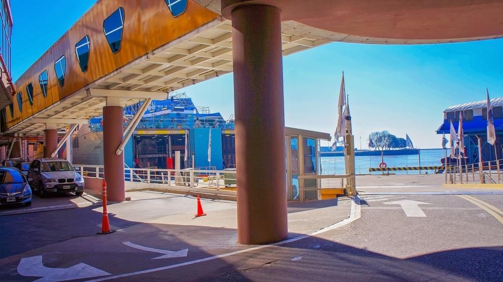 Wir zeigen Euch, wie ihr von Montevideo mit der Fähre nach Buenos Aires kommt.