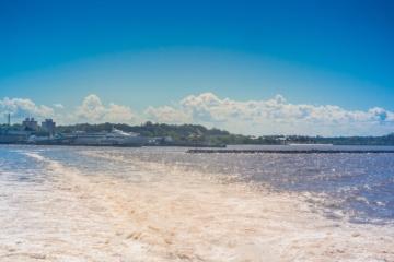 Die neue Schiffsverbindung von Buquebus verbindet Montevideo und Buenos Aires
