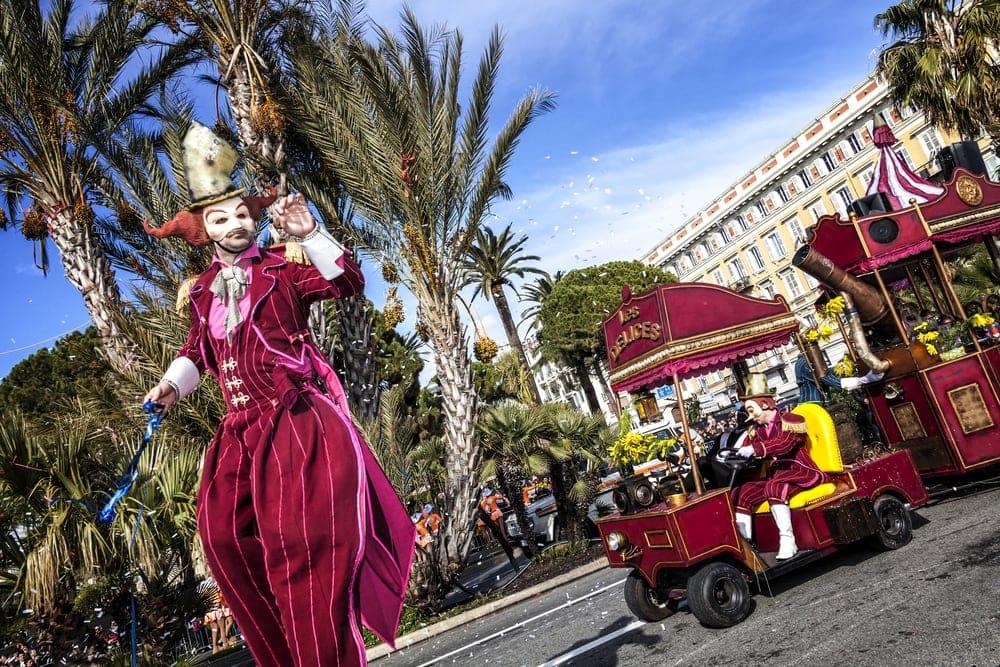 Karneval an der Côte d'Azur