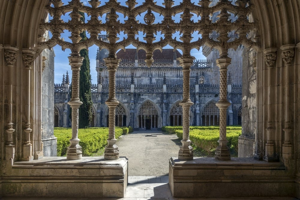 Kloster in Batalha, Portugal
