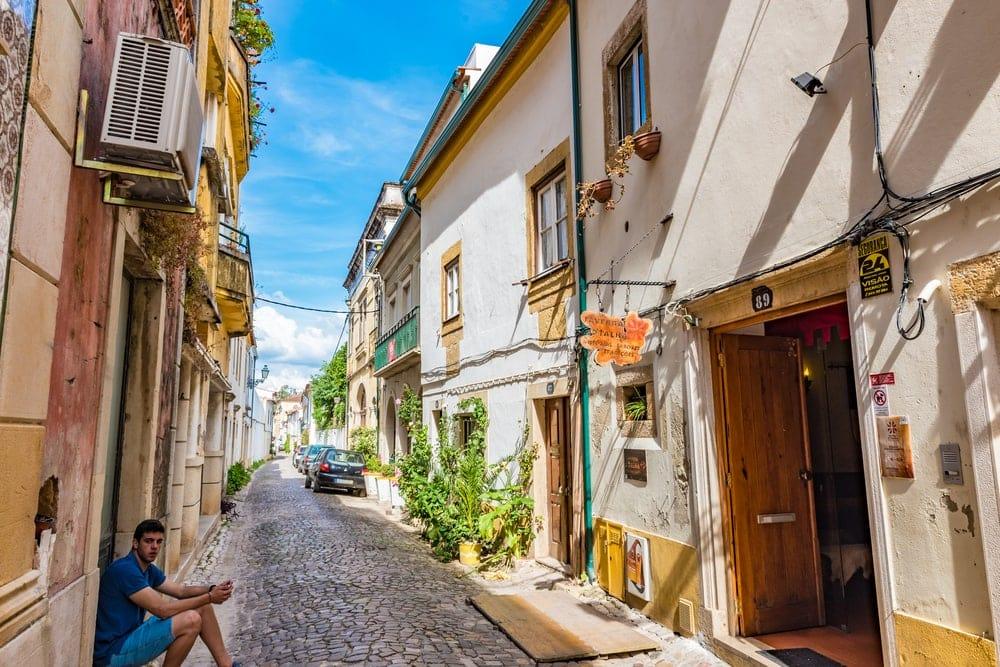 Reise mit dem Fahrrad durch Portugal: Stopp in Tomar