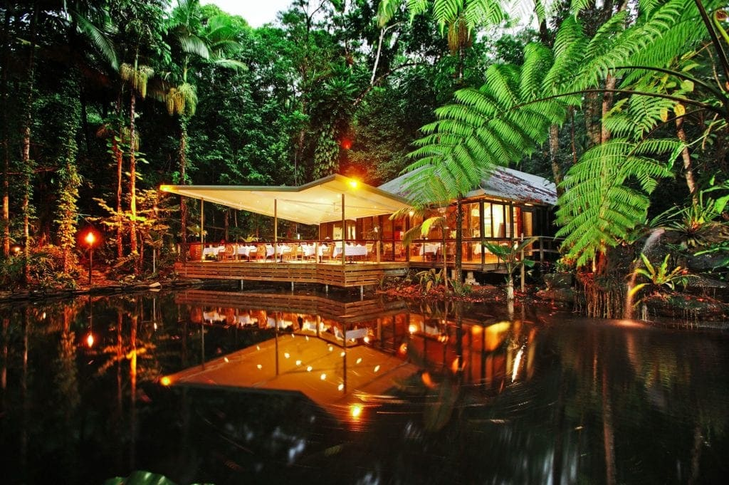 Dschungel-Hotels: Restaurant im Daintree Eco Lodge and Spa Hotel