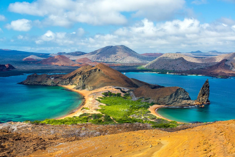 Die Galapagosinseln aus der Vogelperspektive