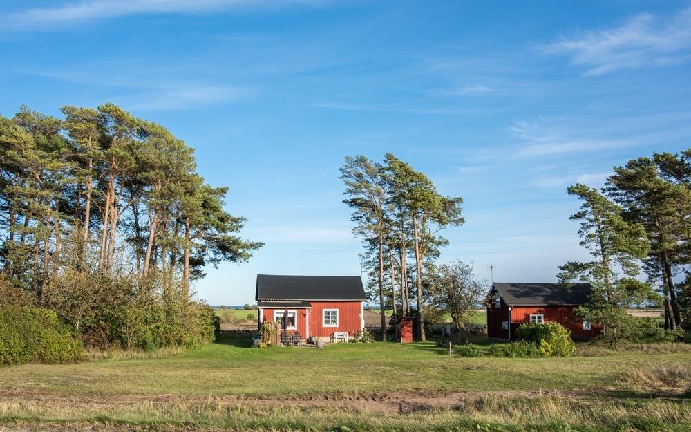 Haus in Öland in Südschweden