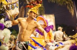 Tänzer beim Karneval in Rio