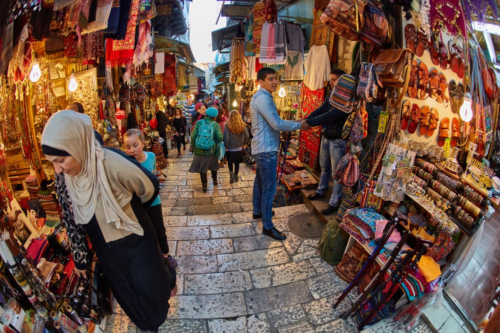 Markt in Jerusalem