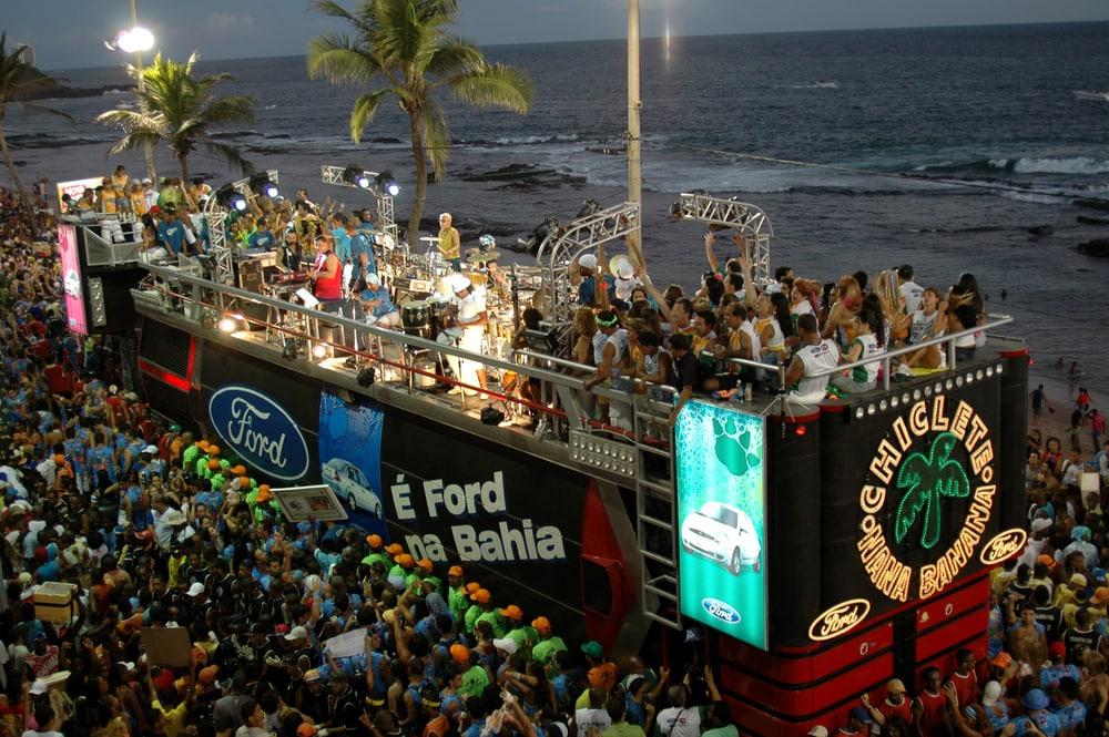 Karnevalsparade in Salvador da Bahia