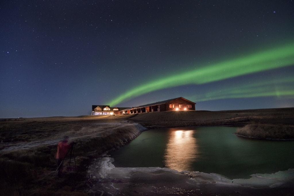 Nordlichter Hotel auf Island: Das Hotel Rangá