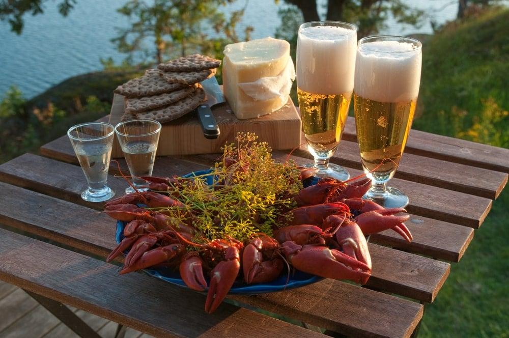 Essen in Schweden