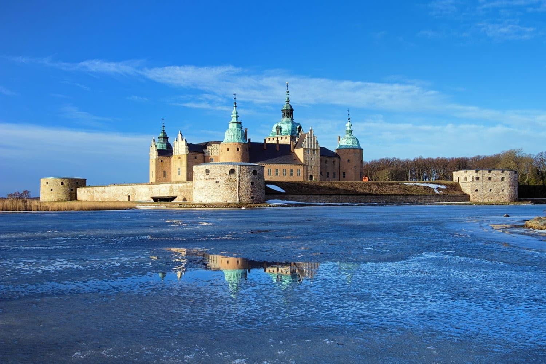 Wasserschloss in Kalmar in Schweden