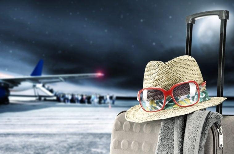 Koffer weg?