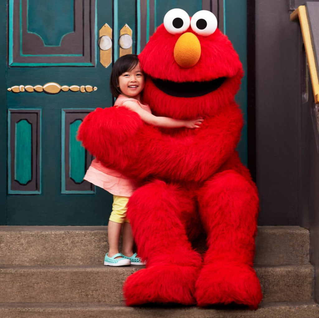 Kind im Sesame Place