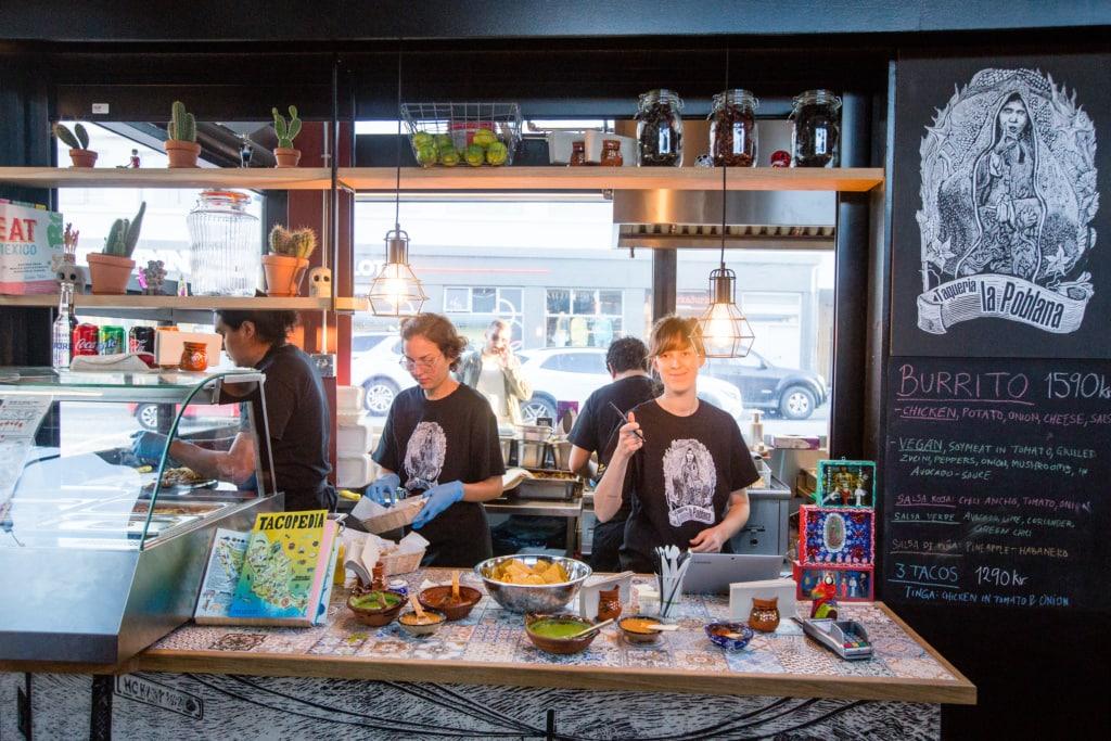 Foodhall in Reykjavik