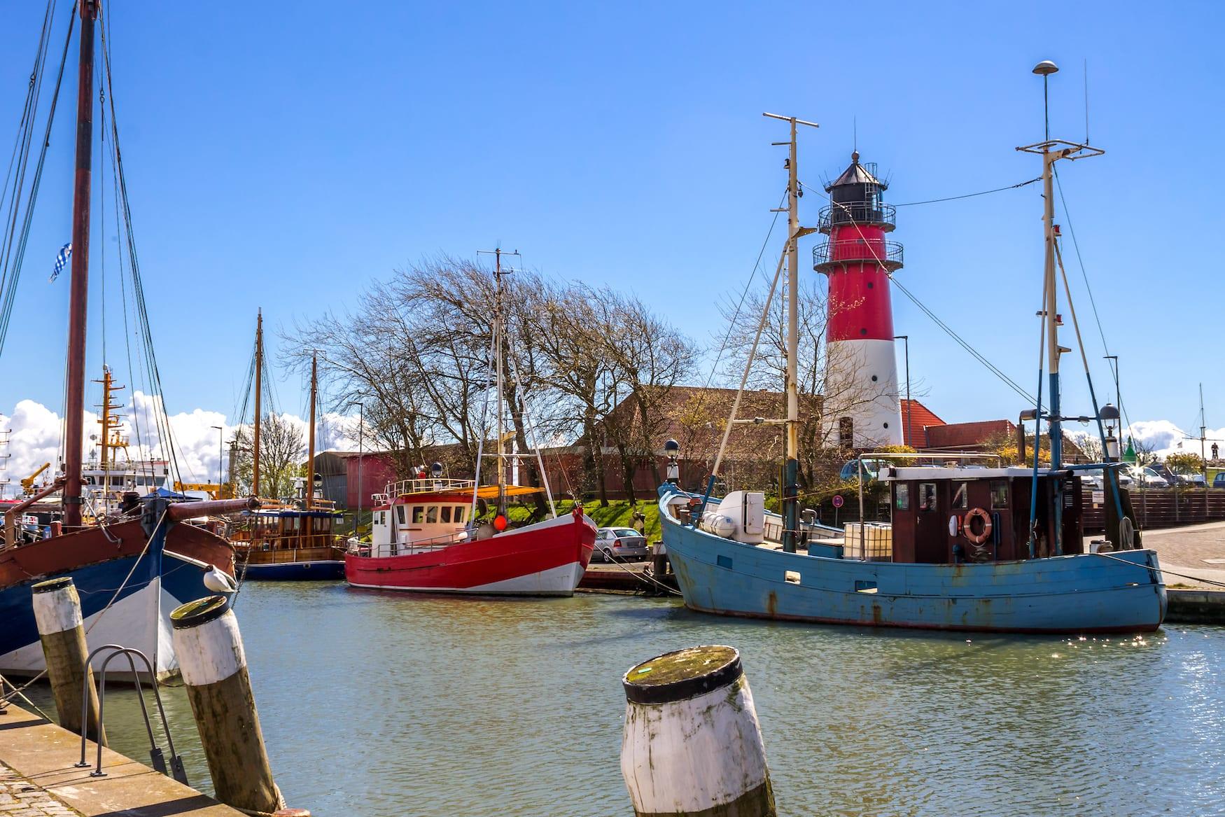 Roadtrip Nordsee: Hafen in Büsum