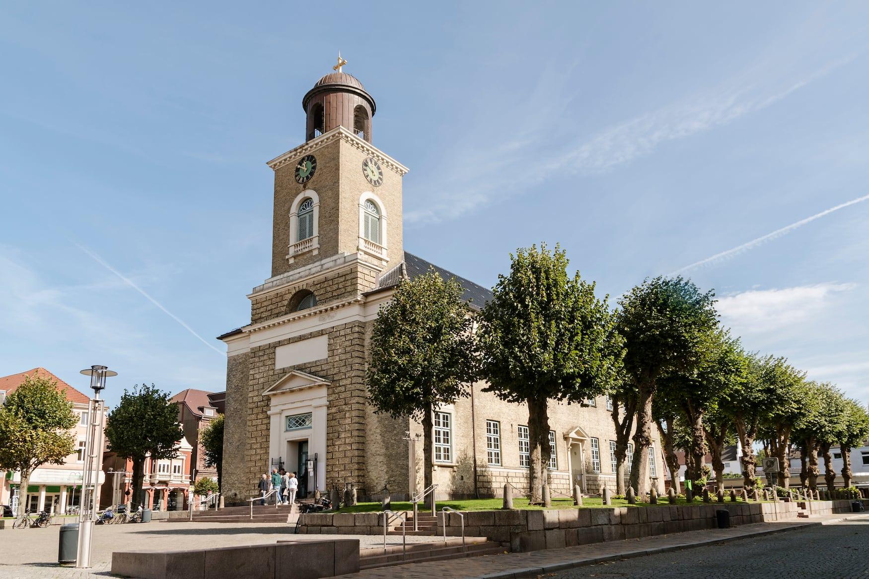 Kirche in Husum an der Nordsee