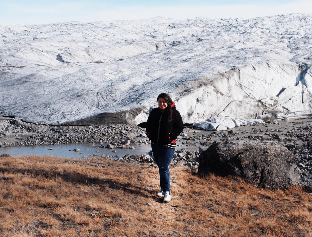 Vor dem Roberts Gletscher in Grönland