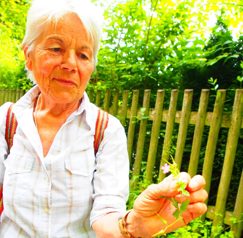 Kräuterführung mit Irmgard