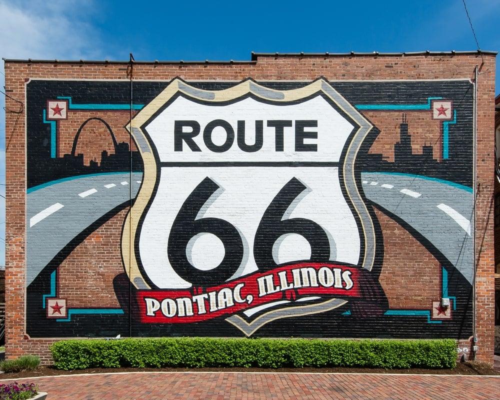 Rundreise durch Illinois: ein Stopp in Pontiac