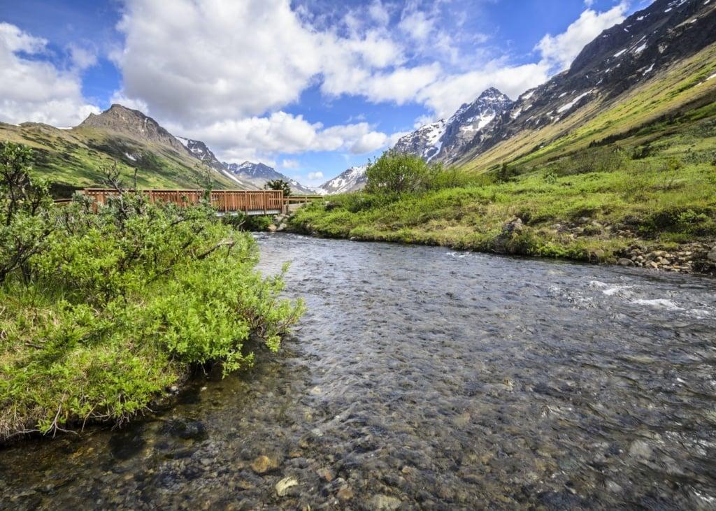 Chugach State Park in Alaska
