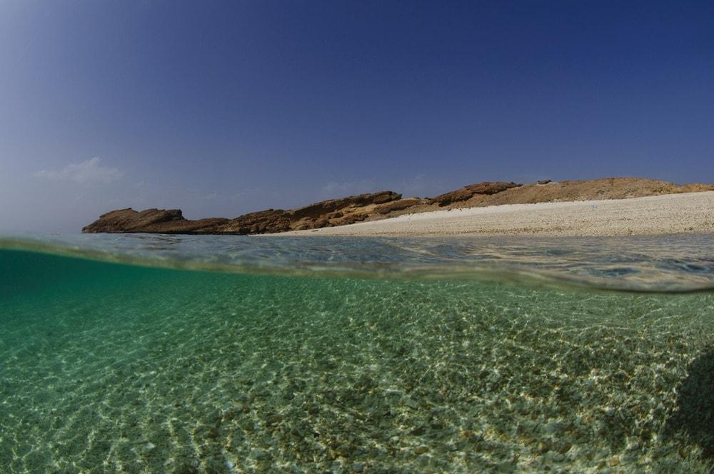 Orte zum Abkühlen im Oman: Daymaniyat Islands