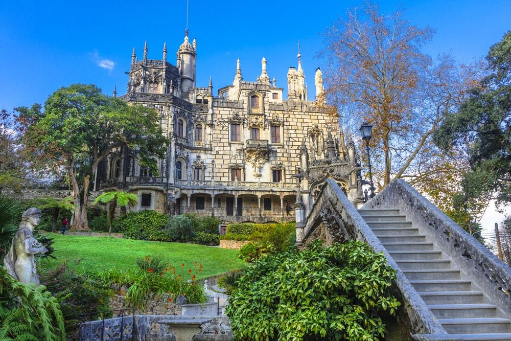 Palace Quinta da Regaleira in Sintra