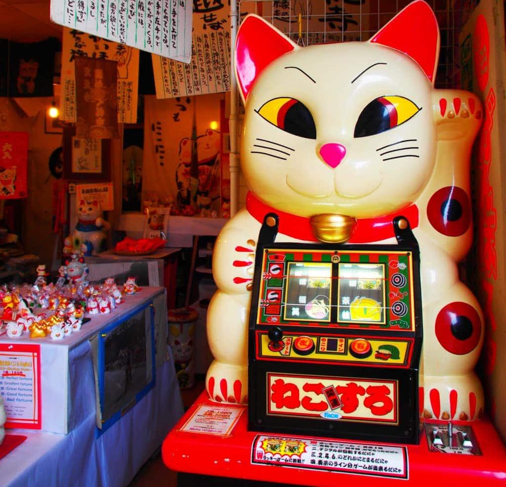 Winke, winke: Winkekattze-Kyushu-Japan