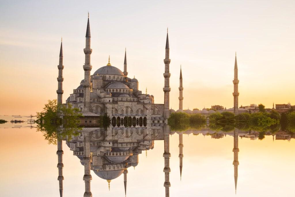 Blaue Moschee und Hagia Sophia in Istanbul