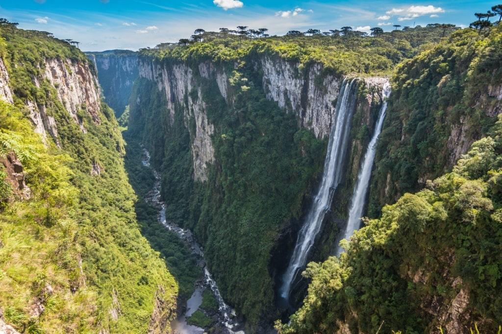 Wasserfälle Canion do Itaimbezinho
