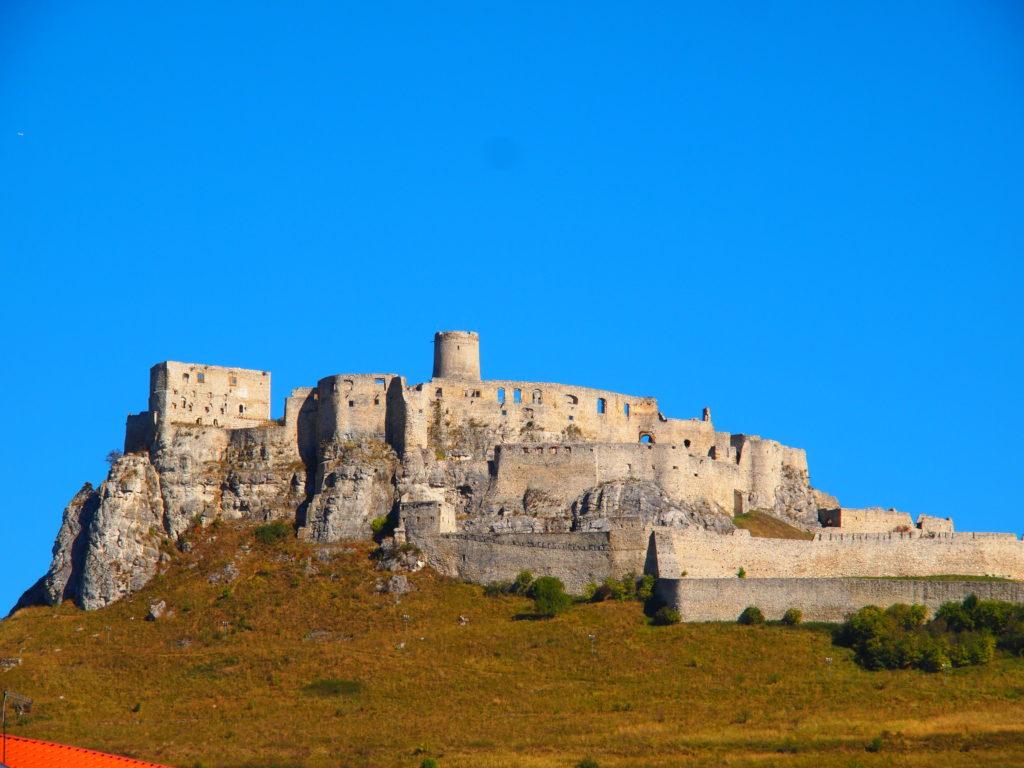 Reise durch die Slowakei: Blick auf die Zipser Burg