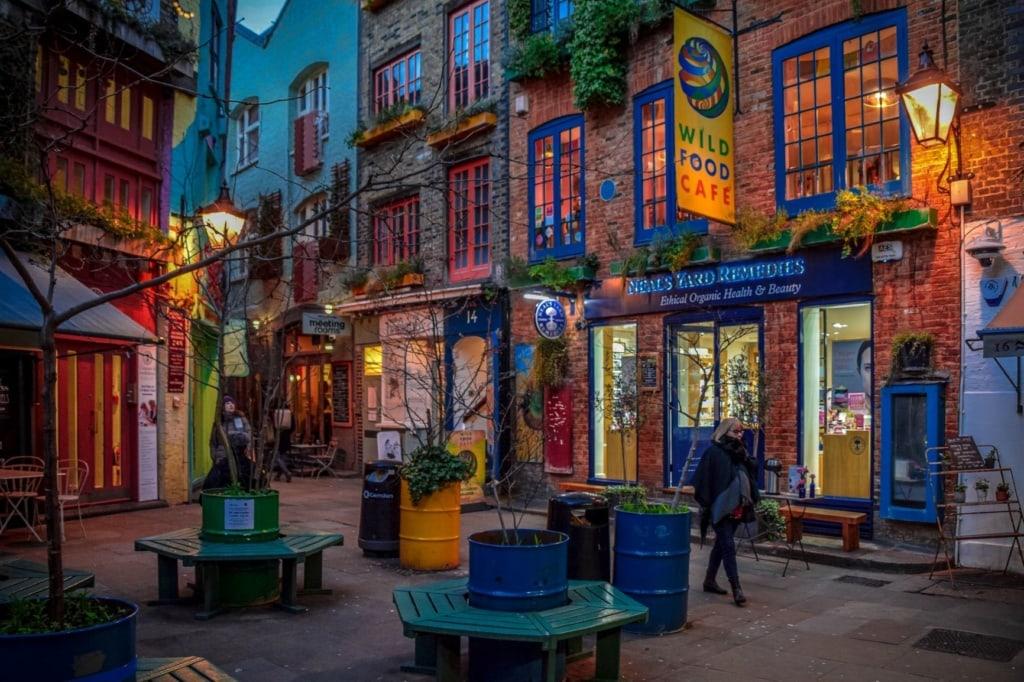 Shops im Londoner Szenestadtteil Covent Garden