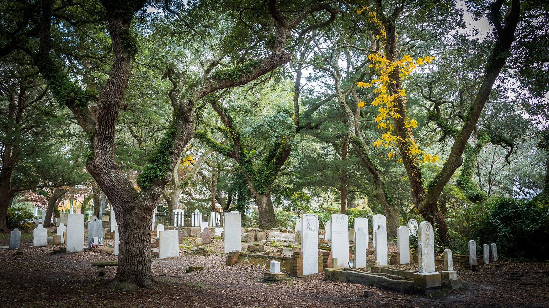 Friedhof in Beaufort, North Carolina