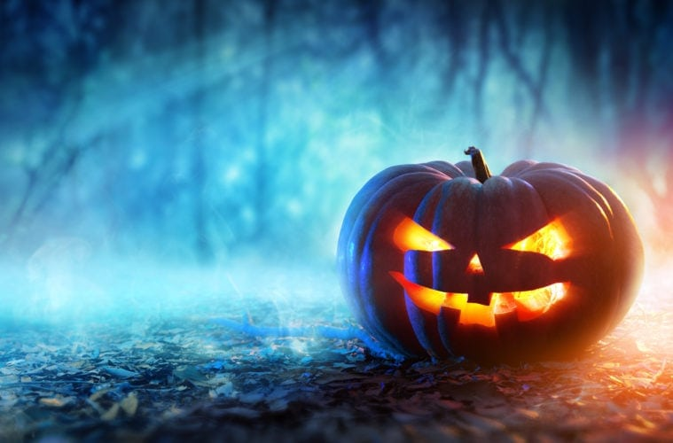 Halloween-Reiseziele: Gruseliger Kürbis