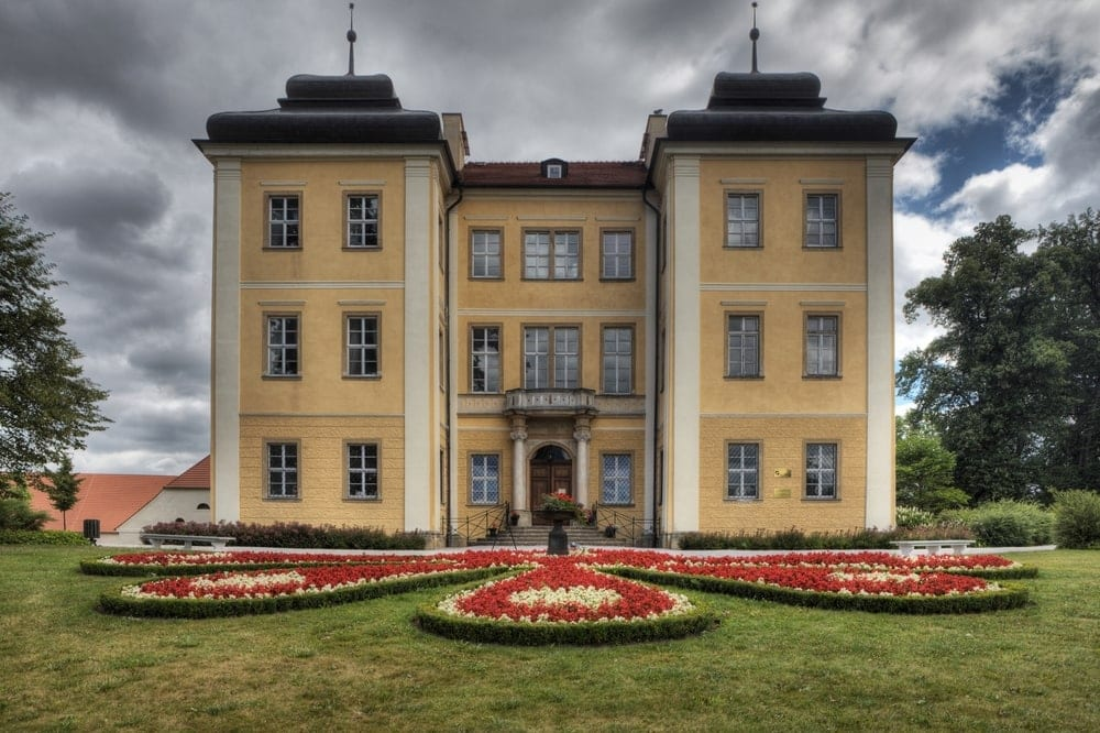 Schloss Lomnica in Polen