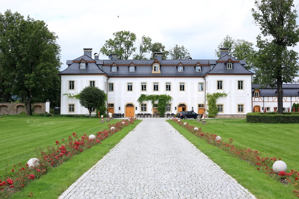 Schloss Pakoszow in Polen