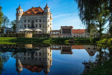 Schlafen wie die Grafen: Schloss Wojanow in Polen