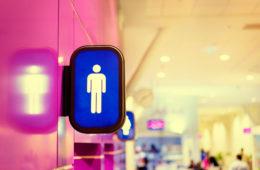 Sex am Flughafen: Toilette populärer Ort
