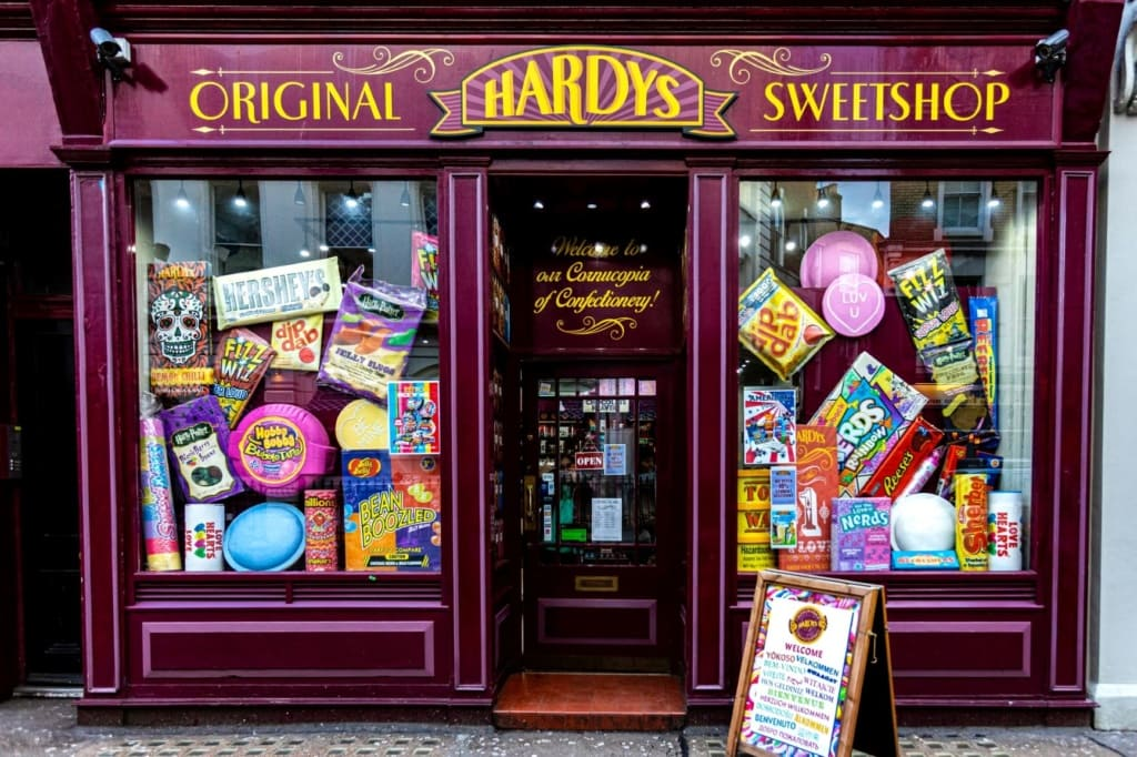 Candy Shop in Covent Garden, London