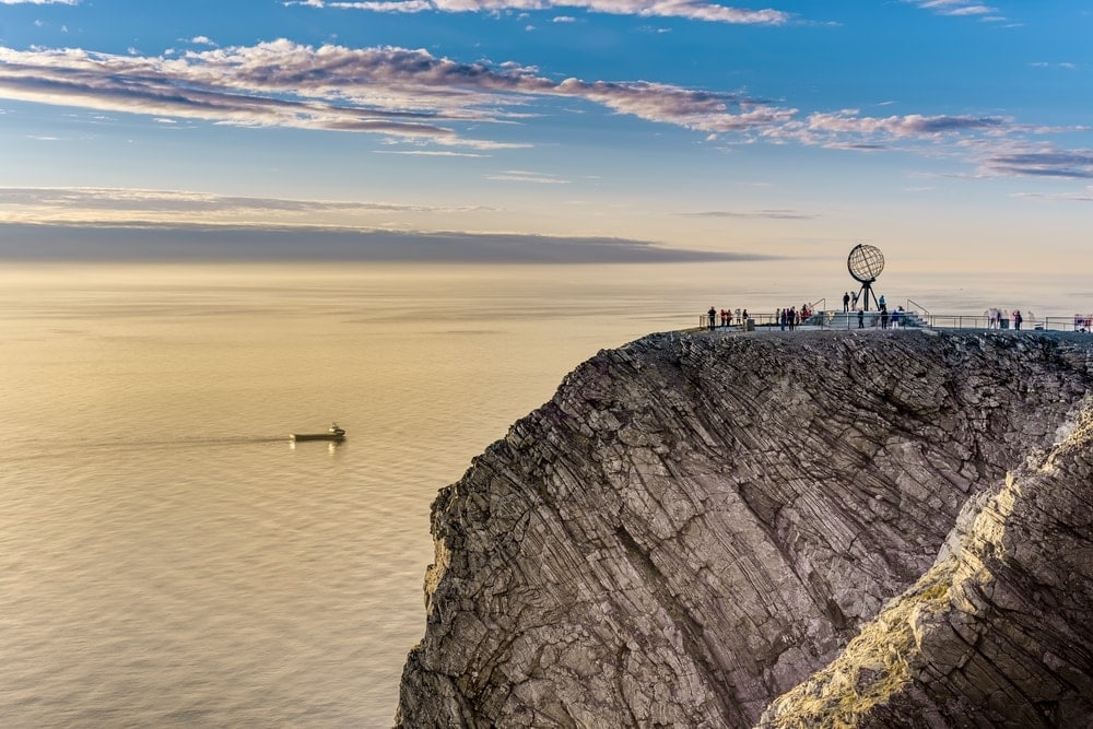 Nordkapp in der Finnmark in Norwegen