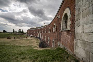Festung in Zamość in Polen