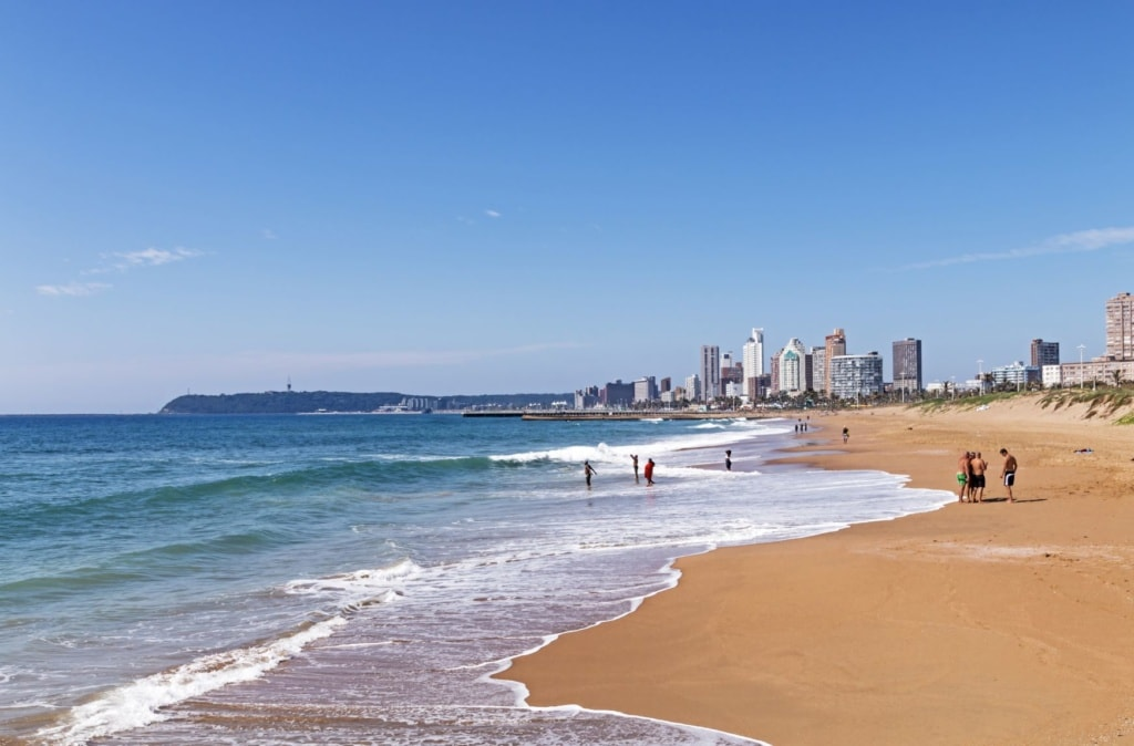 Strand in Durban, Südafrika