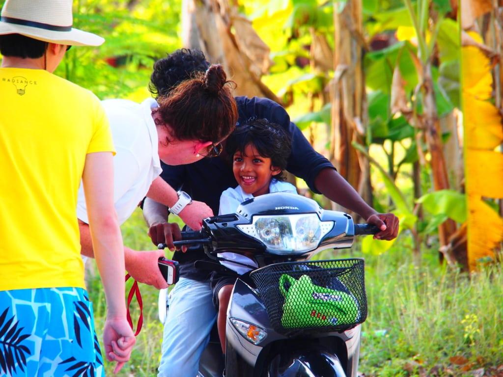 Einheimische auf den Malediven